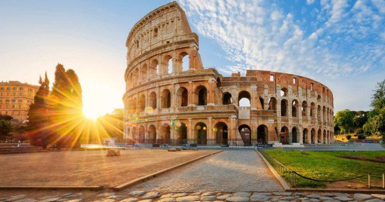 Roma é super charmosa